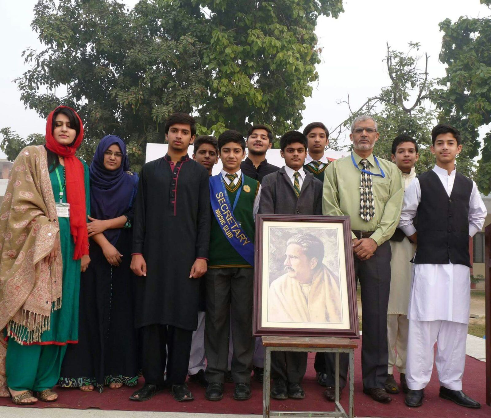 GBHS & IC : Celebration of Iqbal Day 2015